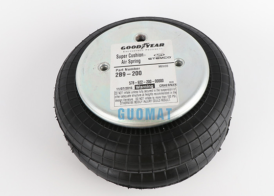 Goodyear Air Spring 2B9-200 Original Rubber Air Spring Double Bellows 578923202 Refer to W01-358-6910
